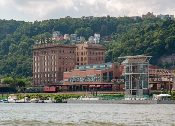Station Square from the Monongahela River in Pittsburgh
