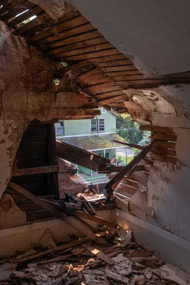 Inside The Abandoned Yellow Dog Village Near Kittanning