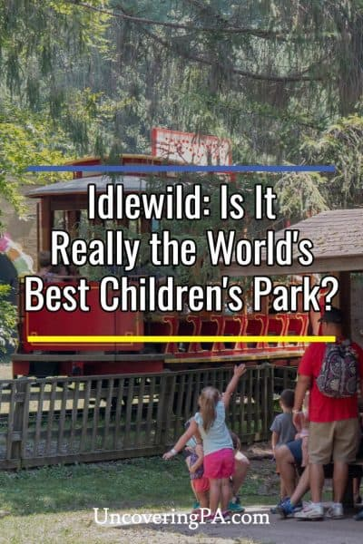 Visiting Idlewild and SoakZone in Ligonier, Pennsylvania