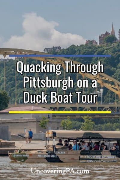 Review of Just Ducky Tours in Pittsburgh, Pennsylvania