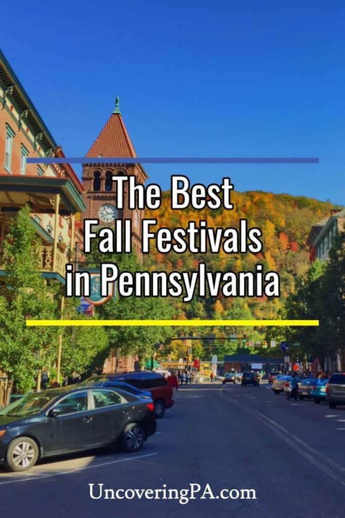 The Best Fall Festivals in Pennsylvania