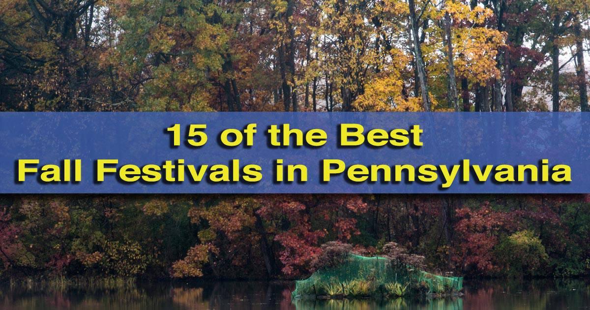 Best Fall Festivals in PA