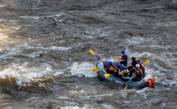 Lower Yough Rafting in Ohiopyle State Park
