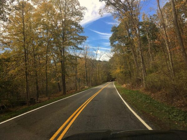 Fall road trips in Pennsylvania