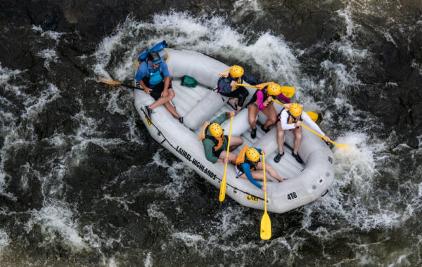 Rainy day activities in Ohiopyle: White Water Rafting