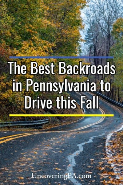 Fall Drives in Pennsylvania