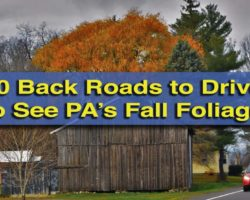 10 Back Roads to Drive to See the Best of Pennsylvania's Fall Foliage