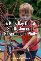 Smith Memorial Playground in Philadelphia, Pennsylvania
