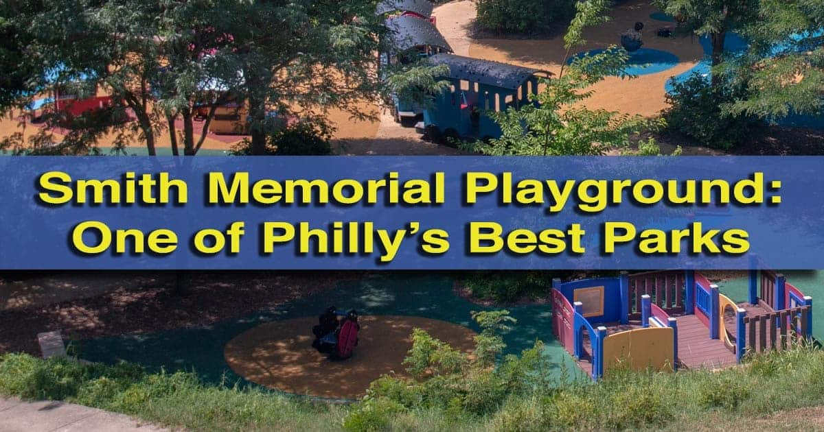 Smith Memorial Playground in Philadelphia, PA