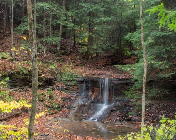 Grindstone Falls is one of the least-known things to do in McConnells Mill State Park