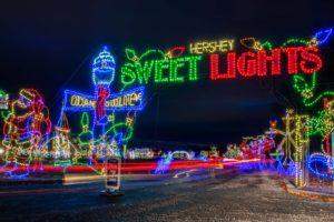 17 Festive Drive-Through Christmas Light Displays in Pennsylvania