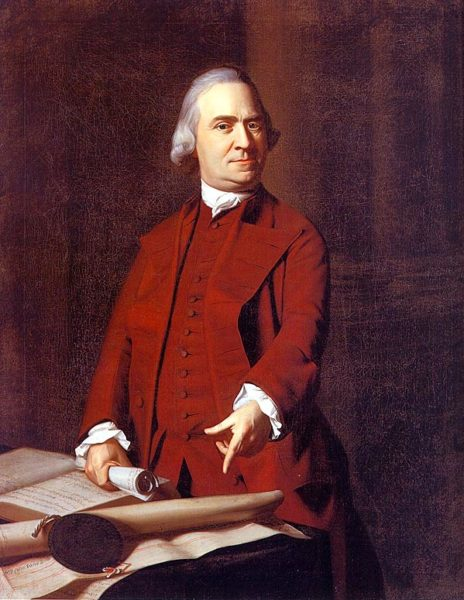 Samuel Adams wrote the proclamation declaring the first Thanksgiving from York, PA.