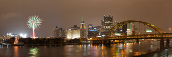 The Fort Pitt Bridge offers great views of Pittsburgh for photographers
