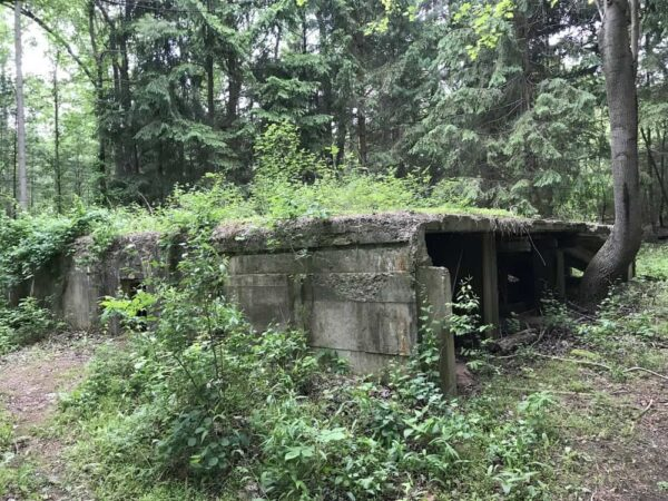 Ruins of Camp Michaux in Pennsylvania.