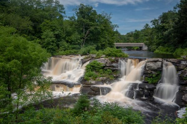 Resica Falls near Stroudsburg, PA