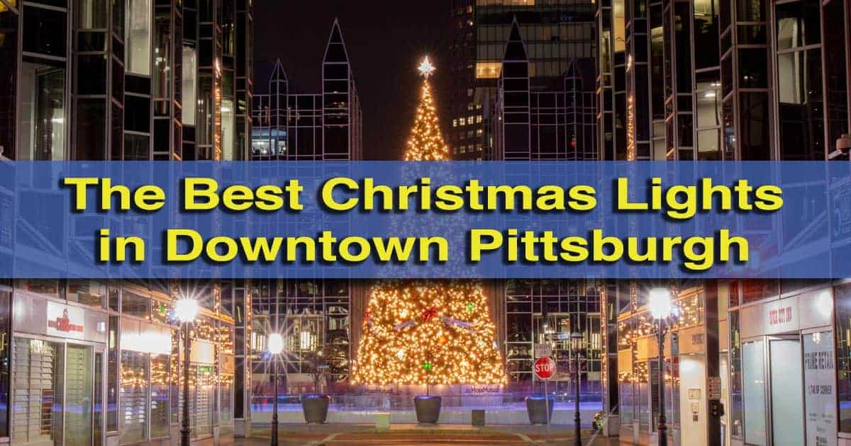 The best Christmas lights in Pittsburgh, Pennsylvania - 9 Great Spots To See Christmas Lights In Pittsburgh - UncoveringPA