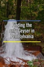 Big Mine Run Geyser in Pennsylvania