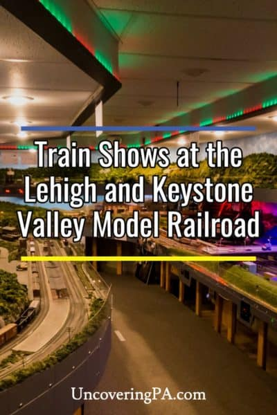 Train Shows at the Lehigh and Keystone Valley Model Railroad Museum in Bethlehem, PA