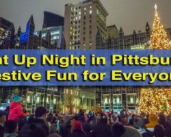 Light Up Night in Pittsburgh: A Fantastic Kick Off for the Holiday Season