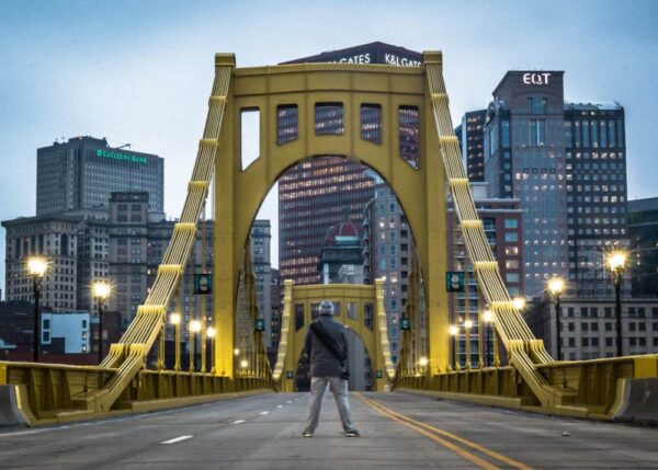 Best Pennsylvania Photos: Andy Warhol Bridge in Pittsburgh