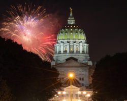 The Best Places to See Fireworks in Harrisburg, PA