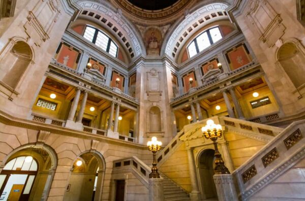 Checking out the Luzerne County Courthouse is one of the top things to do in Wilkes-Barre, Pennsylvania