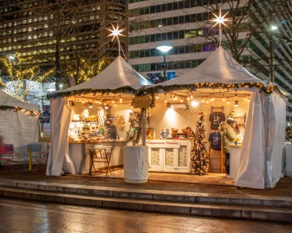 Made in Philadelphia Holiday Market in Dilworth Park