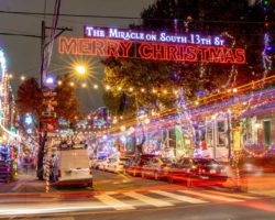 The Miracle on South 13th Street: Festive Christmas Lights in South Philly