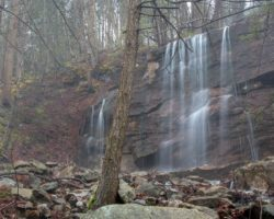 How to Get to Paddy Run Falls in Luzerne County, PA