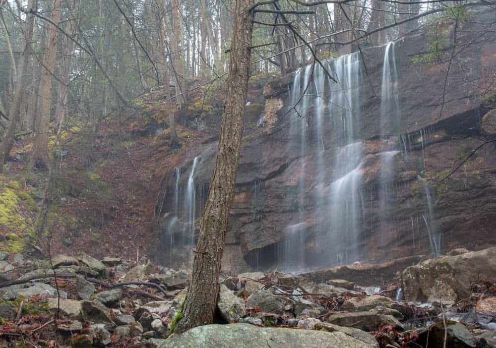 Paddy Run Falls near Shickshinny, PA