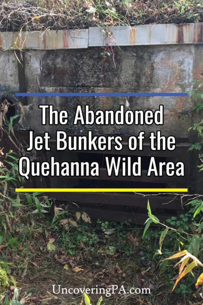 Abandoned Jet Bunks of the Quehanna Wild Area