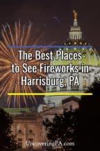 Fireworks in Harrisburg, Pennsylvania