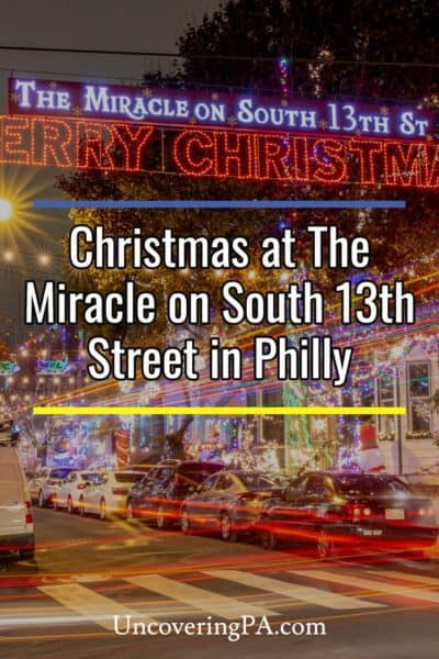 The Miracle on South 13th Street in Philadelphia, Pennsylvania
