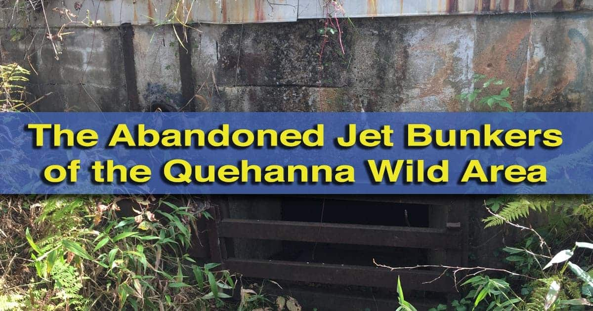Abandoned Jet Bunkers in the Quehanna Wild Area of Pennsylvania