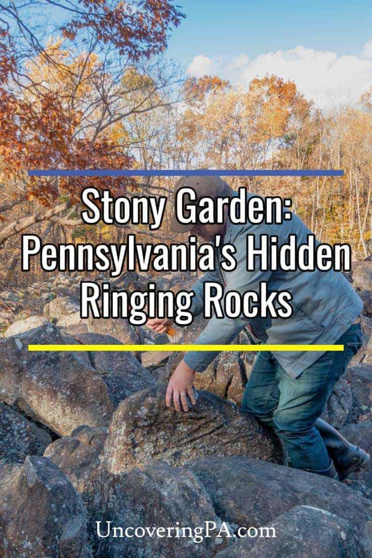 Stony Garden: Bucks County, Pennsylvania's hidden ringing rocks field #pa #oddities