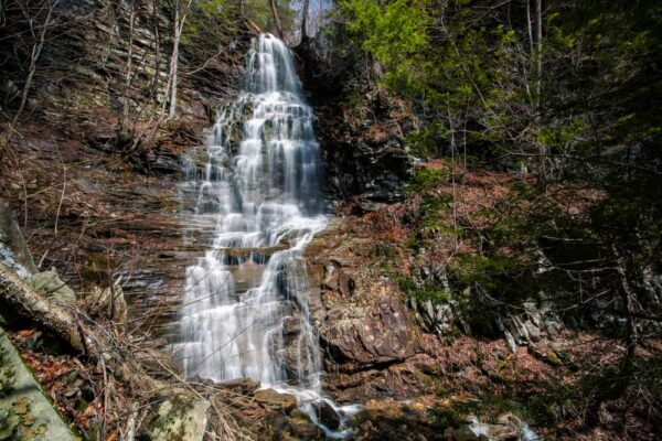 How to get to Angel Falls in Pennsylvania's Loyalsock State Forest