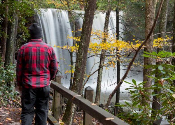 Visiting Ohiopyle State Park is one of the best things to do near the University of Pittsburgh at Greensburg campus.