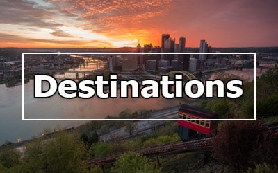 Destinations in Pennsylvania