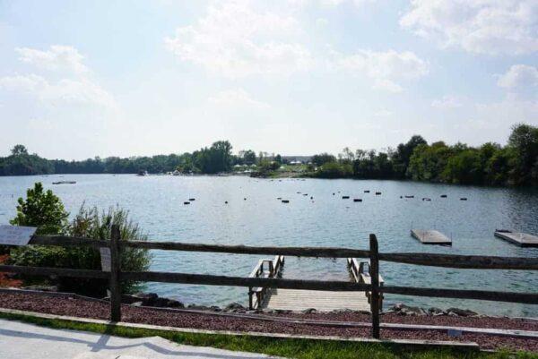 Lake at Dutch Springs in PA