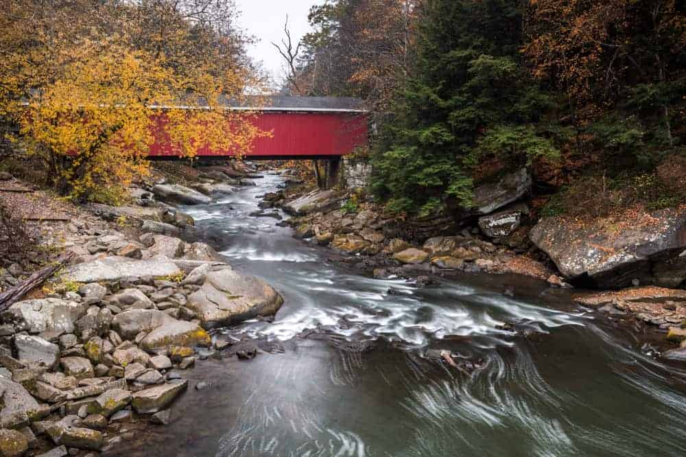 Covered Bridges in Lawrence County, PA