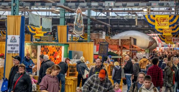 Pennsylvania Farm Show crowds