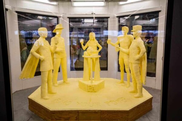 2019 Butter Sculpture at the PA Farm Show in Harrisburg, Pennsylvania