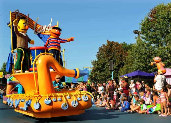 Sesame Place is one of the best things for kids to do in Bucks County