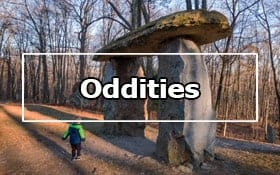 Oddities in the Laurel Highlands