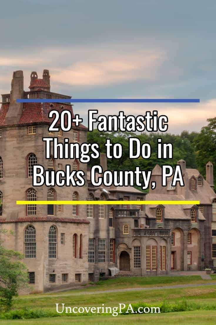 There are many fantastic things to do in Bucks County, PA. Here are 20+ of my favorites #Pennsylvania