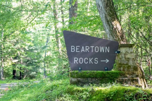 How to get to Beartown Rocks in the Pennsylvania Wilds