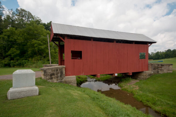 Brownlee Covered Bridge in western Pennsylvania