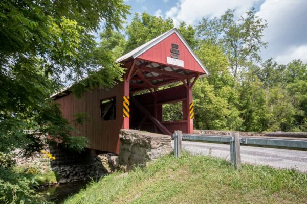 Erskine Covered Bridge near West Virginia