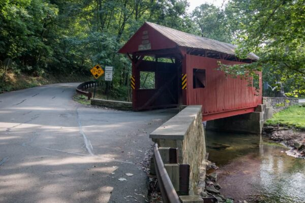 Henry Covered Bridge in Washington County, PA
