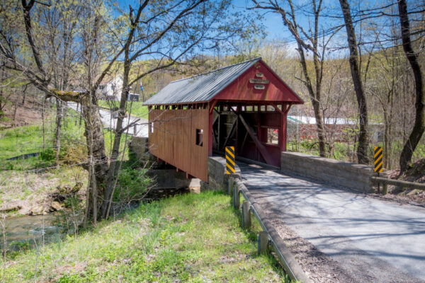 Jackson's Mill Covered Bridge near Hillman State Park